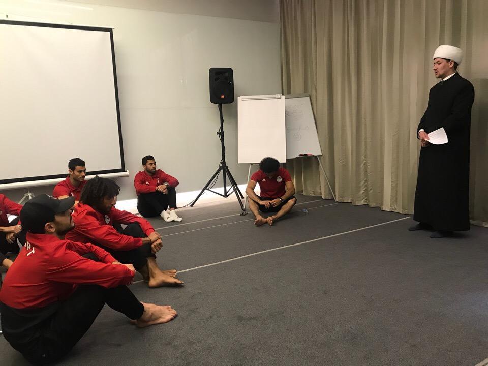 Пятничная молитва для сборной Египта по футболу